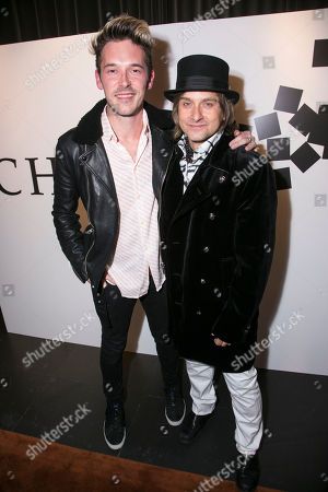 Sam Palladio and Tim Howar (Frederick Trumper)