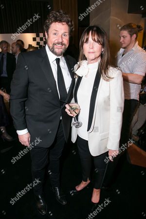 Stock Picture of Michael Ball (Anatoly Sergievsky) and Cathy McGowan