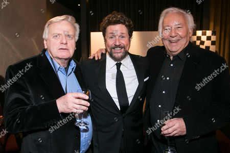 Michael Grade (Producer), Michael Ball (Anatoly Sergievsky) and Michael Linnit (Producer)