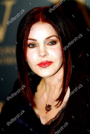 Stock Photo of Priscilla Presley Former Wife Of Elvis Presley Pictured During An In-store Signing At Waterstones On Oxford Street London Where She Signed Copies Of Elvis By The Presleys: Intimate Stories By Priscilla Presley Lisa Marie Presley And Other Family Members (edited By David Ritz; Published By Century A20).