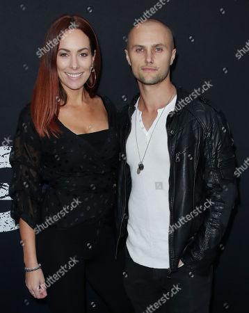 Mark Furze and Laural Barrett