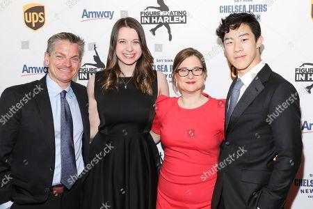 Paul Wylie, Emily Hughes, Sharon Cohen, Nathan Chen