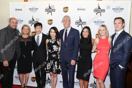 Stock Picture of John Varvatos, Tina Lundgren, Nathan Chen, Karen Chen, Terry J. Lundgren, Michelle Kwan, Courtney Reagan