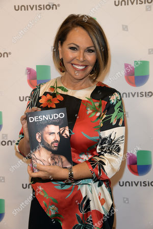 Editorial image of 'Desnudo by Jomari Goyso' book signing, Miami, USA - 01 May 2018
