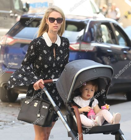 Nicky Hilton Rothschild and daughter Lily Grace Victoria Rothschild