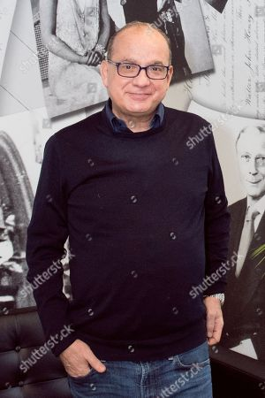 Editorial picture of Touker Suleyman photoshoot, Edgware, London, UK - 14 Feb 2018