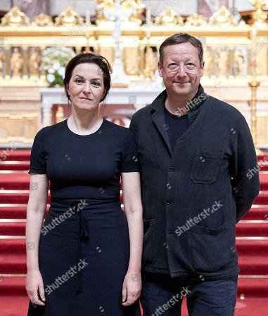Martina Gedeck and Matthias Brandt