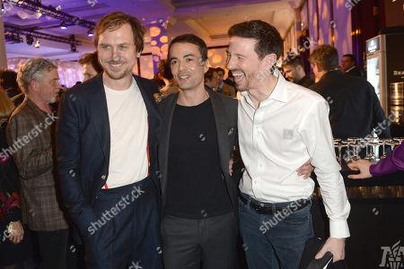 Lars Eidinger, Nikolai Kinski and Oliver Berben