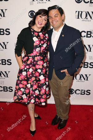Stock Picture of Robert Lopez, Kristen Anderson-Lopez