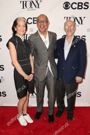Stock Photo of Peggy Eisenhauer, George C Wolfe, Jules Fisher