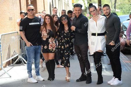 Deena Nicole Cortese, Mike Sorrentino, Nicole Snooki Polizzi, Paul DelVecchio, Jenni J-Woww Farley and Vinny Guadagnino