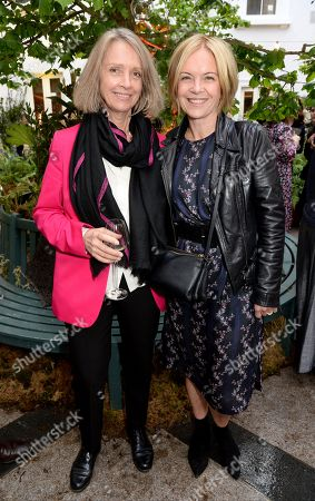 Stock Picture of Sabrina Guinness and Mariella Frostrup