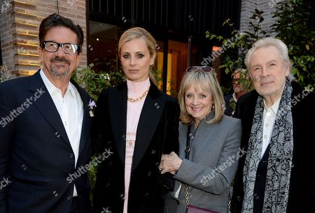 Francesco Boglione, Laura Bailey, Twiggy and Leigh Lawson