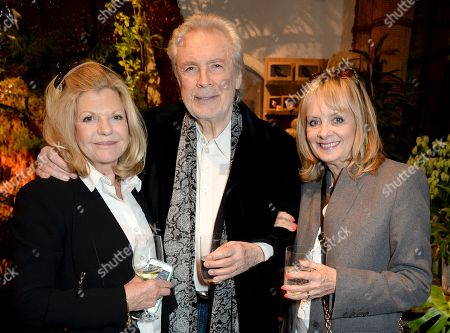 Jo Miller, Leigh Lawson and Twiggy