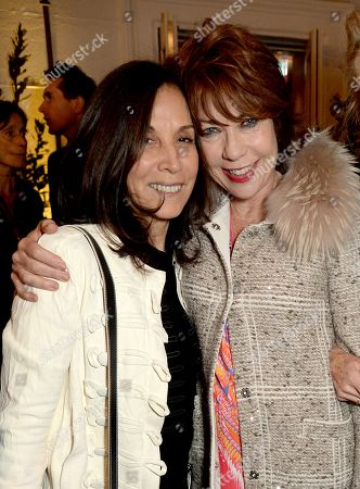 Olivia Harrison and Kathy Lette