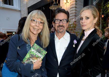 Penelope Tree, Francesco Boglione and Laura Bailey
