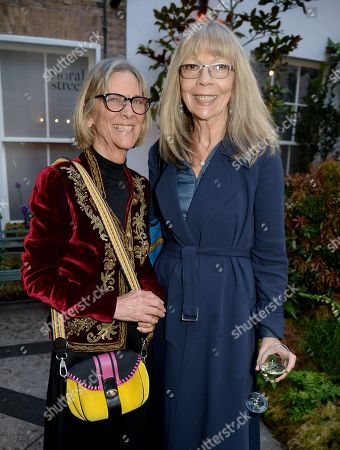 Penelope Tree (R) and guest