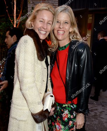 Stock Photo of Sydney Ingle-Finch (L) and guest