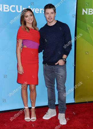 Christine Evangelista and Josh Henderson