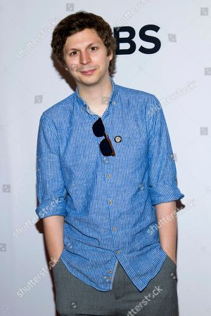 Michael Cera attends the 2018 Tony Awards Meet The Nominees press junket, in New York