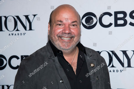 Casey Nicholaw attends the 2018 Tony Awards Meet The Nominees press junket, in New York
