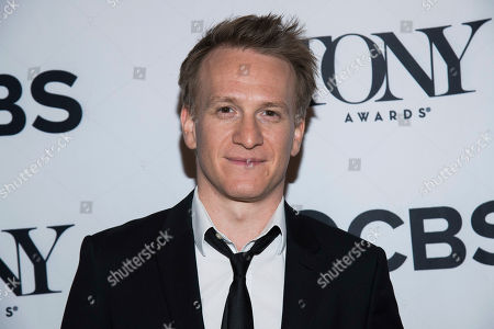 Jamie Parker attends the 2018 Tony Awards Meet The Nominees press junket, in New York