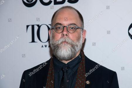 David Zinn attends the 2018 Tony Awards Meet The Nominees press junket, in New York