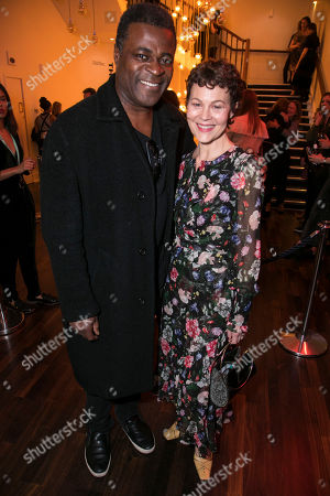 Stock Picture of Danny Sapani and Helen McCrory