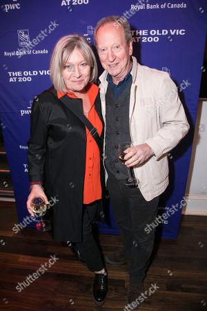 Stock Photo of Hildegard Bechtler (Designer) and Bill Paterson