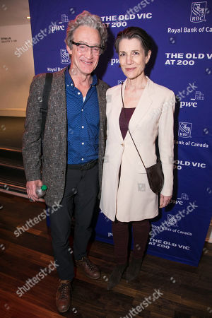Stock Image of Guy Paul and Harriet Walter