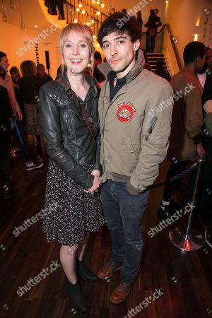 Hattie Morahan and Blake Ritson