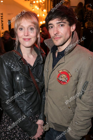 Stock Picture of Hattie Morahan and Blake Ritson