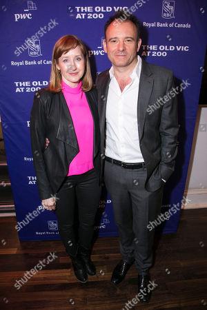 Lauren Ward and Matthew Warchus (Artistic Director)