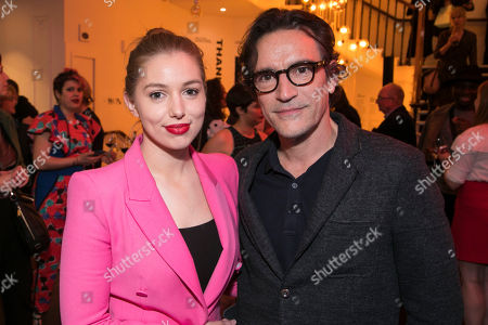 Seana Kerslake (Cat) and Ben Chaplin (Bernard)