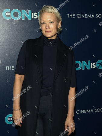 """Stock Picture of Nancy Jarecki attends a special screening of """"The Con Is On"""", hosted by Lionsgate and the Cinema Society, at the Roxy Cinema, in New York"""