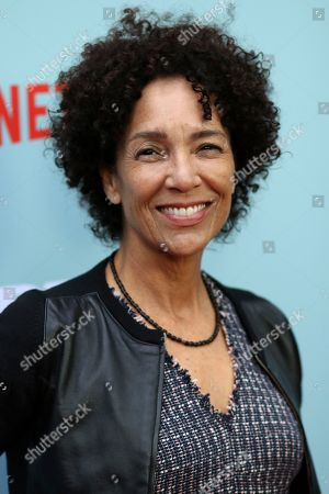 """Stephanie Allain arrives at the LA Special Screening of the """"Dear White People"""" Season 2 at the Arclight Hollywood, in Los Angeles"""