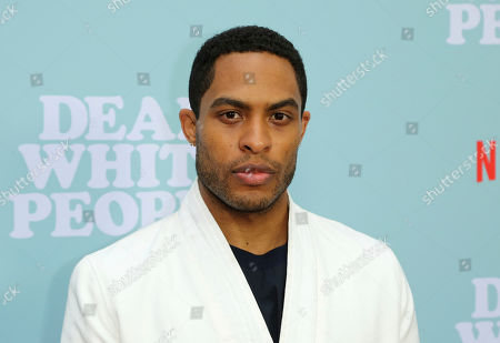 """Brandon P Bell arrives at the LA Special Screening of the """"Dear White People"""" Season 2 at the Arclight Hollywood, in Los Angeles"""