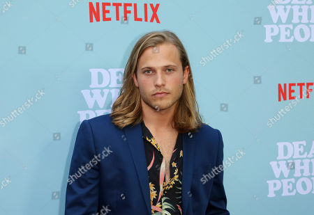 """Wyatt Nash arrives at the LA Special Screening of the """"Dear White People"""" Season 2 at the Arclight Hollywood, in Los Angeles"""