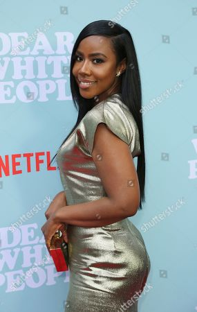 """Nia Jervier arrives at the LA Special Screening of the """"Dear White People"""" Season 2 at the Arclight Hollywood, in Los Angeles"""