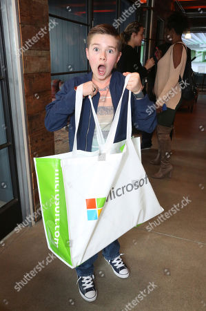 Jet Jurgensmeyer at the Surface Young Hollywood Event, at Microsoft Lounge in Culver City, Calif