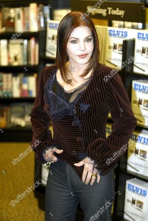 Editorial picture of Priscilla Presley Former Wife Of Elvis Presley Pictured During An In-store Signing At Waterstones On Oxford Street London Where She Signed Copies Of Elvis By The Presleys: Intimate Stories By Priscilla Presley Lisa Marie Presley And Other Family Memb