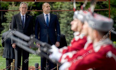 Editorial image of President of Austria Alexander Van der Bellen visits Sofia, Bulgaria - 03 May 2018
