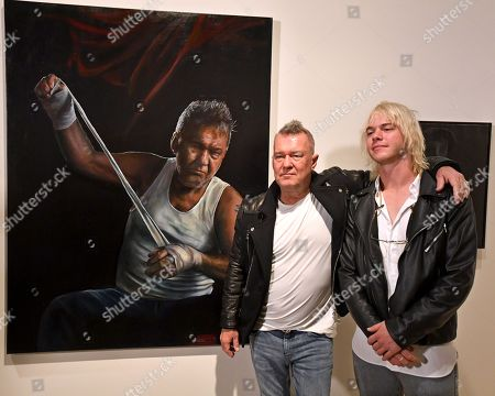 Jamie Preisz and Jimmy Barnes