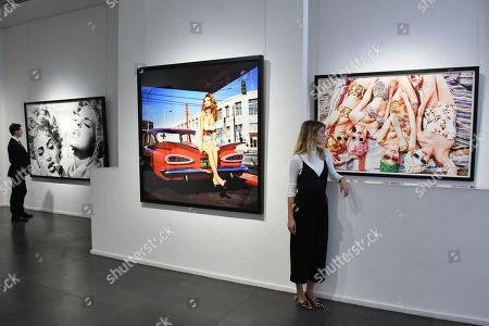 Editorial image of Ellen von Unwerth 'Ladyland' exhibition press view, London, UK - 03 May 2018