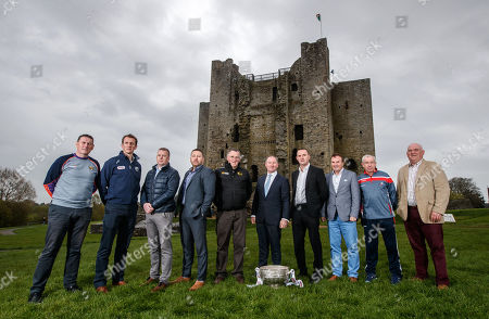 Editorial picture of 2018 Leinster Senior Football Championship Launch, Trim Castle, Co. Meath  - 03 May 2018