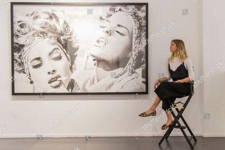 Editorial photo of Ellen von Unwerth 'Ladyland' exhibition press view, London, UK - 03 May 2018