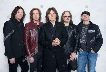 Europe - John Norum, John Leven, Joey Tempest, Mic Michaeli, Ian Haugland, Swedish Music Hall Of Fame inductees, Stockholm