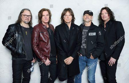 Europe - Mic Michaeli, John Leven, Joey Tempest, Ian Haugland, John Norum, Swedish Music Hall Of Fame inductees, Stockholm