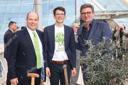 Prince Albert II, Felix Finkbeiner, Hans Sigl