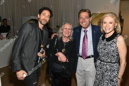Adrien Brody, Sylvia Plachy, Joe Namath